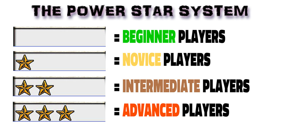 The Power Stars make tweaking your decks for different tournament environments and casual gameplay scenarios super fast and painless.
