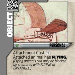 Our cards use beautiful art from the past, like this glider envisioned by Da Vinci!