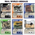 Card abilities are based on real world animals and their rarities are based on how endangered they are.